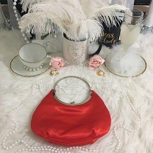 Handbags - RED Mini Clutch bag